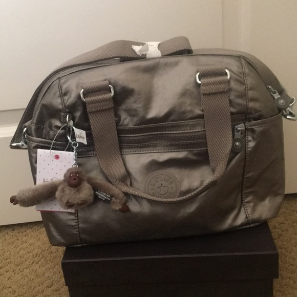 f8ee736d2ac1 Kipling Bags | Cora Crossbody Bag Metallic Pewter | Poshmark